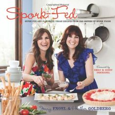 Spork-Fed: Super Fun and Flavorful Vegan Recipes from the Sisters of Spork Foods by Jenny Engel http://www.amazon.com/dp/0983272611/ref=cm_sw_r_pi_dp_iu1aub0VRV398
