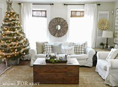 Woodland Glam Christmas Tour {2014} - Rooms For Rent blog