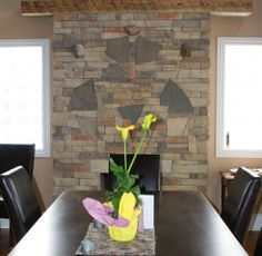Fireplace Gallery, Stone Veneer, Plants, Flora, Plant, Stone Cladding
