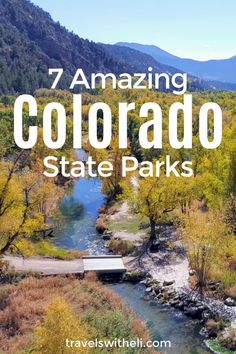 Colorado River, Colorado Mountains, Usa Travel Map, Colorado National Monument, Sylvan Lake, Parks Department, Lake View, Day Trips, State Parks