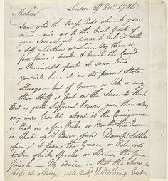 Letter Written by James Oldham (British, active late 18th century) Dedicatee: Dedicated to W. P. Alcourt Esq. (British, 18th century) Date: December 26, 1786