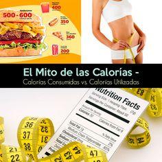 """Al pasar de los años se ha generado toda una noción ridícula al rededor del mito de las calorías, """"calorías consumidas vs. calorías utilizadas""""."""