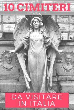 cimiteri da visitare Cemetery Statues, Cemetery Art, Grim Reaper, Wonderful Places, Touring, The Grim, Places To Visit, Italy, Travel