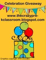 The Crazy Pre-K Classroom HUGE GIVEAWAY! 25.00 gift card and huge bundle of teacher units, 33 and counting, enter now!