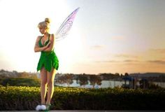 Tinker bell Cosplay.