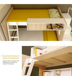 Schon 2014 Home Use Modern Fashionable Kids Bunk Bed
