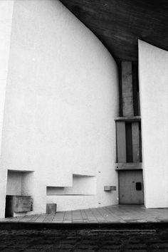 Notre-Dame-du-Haut is the architect Le Corbusier's chapel in Ronchamp, France.