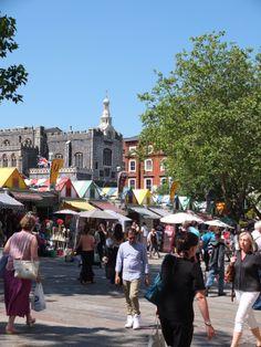 Gentleman's Walk & Norwich Market Norwich Market, Norwich Norfolk, Norfolk England, Family Days Out, Uk Photos, Morrisons, England And Scotland, Mall, Gentleman