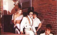 Elvis and Linda Thompson