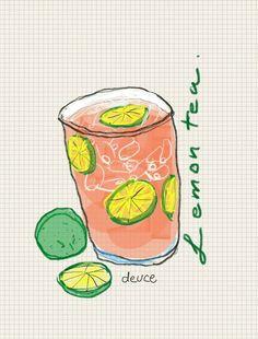 Lemon tea :)