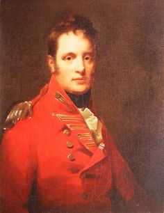 Sir Henry Raeburn (1756-1823) - Portrait of Colonel Alexander Campbell of Possil, who entered the army as an Ensign in the 42nd Regiment in April 1769, & obtained a Lieutenancy in the 2nd Battalion Royals the following year in Minorca. He moved to the 62nd regiment later that year in Ireland, & went with the regiment to Canada, where, as a captain of Light Infantry under General Carleton, he fought in the campaigns of 1776 & 1777 with General Burgoyne in the American War of Independence.