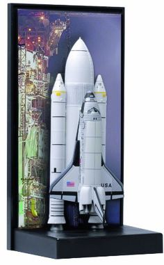 Pre-Built Model Spacecraft - Dragon Models 1400 Space Shuttle Columbia with SRB STS1 *** Check out this great product.