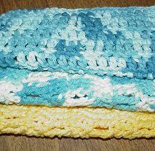 Crochet a WashCloth:  Free Pattern