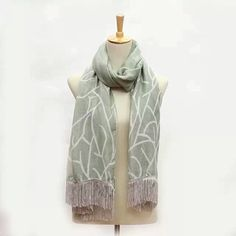 latest tassel scarves for sales,different colors available,grey-Feb 2015,SKYPE:bndfashion Whatsapp:86-13249726863