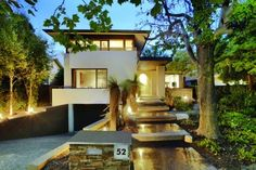 Modern House Plan from Houseplans.com : House Plan 496-1