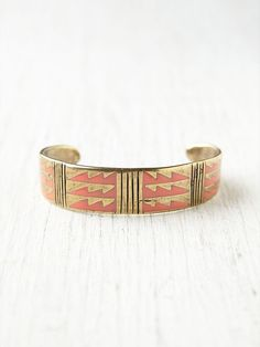 { Geo Enamel Cuff from Free People [$188] }