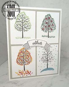 Totally Trees, Thoughtful Banners, Sheltering Tree, Stampin Up, susanstamps.wordpress.com