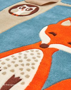 Owl Rug, Owl Kids, Childrens Rugs, Boy Or Girl, Fox, Kids Rugs, Colours, Texture, Popular