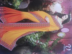 Kutchi pure double dyning with heavy blouse.
