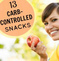 Watching your carb intake can be challenging at first but a little bit of knowledge and preparation will help you get used to making better choices in no time. Here are 13 diabetes-friendly snack ideas to incorporate into your meal plan. Beat Diabetes, Gestational Diabetes, Type 1 Diabetes, Cure Diabetes Naturally, Spark People, Nutrition Articles, Diabetic Snacks, Diabetic Recipes, Tips