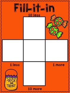 10 more, 10 less, Fill in the 100's Chart -... by First Grade Friendly Frogs | Teachers Pay Teachers