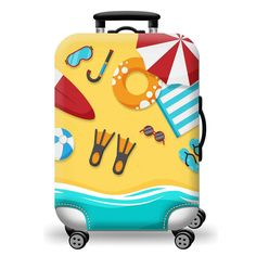 Travel Luggage Cover Stitch Pikachu How To Train Your Dragon Sunshine Suitcase Protector Fits 26-28 Inch Washable Baggage Covers