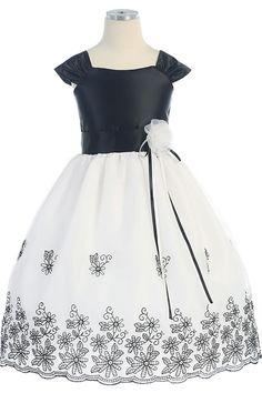 Sweet Kids Black Velvet Sequin Mesh Tiered Christmas Girls Dress ...