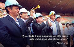 Governo ineficiente atrasou o país. #VamoMudarOBrasil #AecioNeves http://aeciodisse.tumblr.com/
