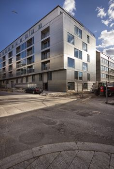 dinelljohansson: storstadshamn Metal Facade, Oslo, Architecture, Home Projects, Multi Story Building, Exterior, Photography, House, Inspiration