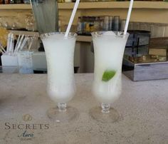 Delicious cocktails are waiting for you at Secrets Aura Cozumel!