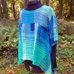 Blue/green tunic Www,saorisaltspring.com