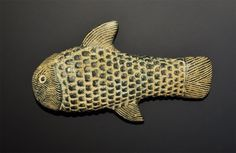 Near Eastern Bactrian Style Stone Fish