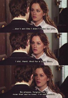 """""""No actúes como si yo no hubiera luchado por ti. Lo hice. Me esforcé. Por un largo tiempo. Así que por favor, perdoname si ahora que todo ha terminado, estoy exhausta."""" #quotes #frases"""