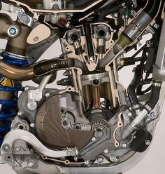 Yamaha Motocross, Yamaha Wr, Motocross Racing, Dirt Bike Racing, Racing Motorcycles, Car Learning, Engine Working, Mx Bikes, Engineering Tools