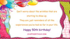 Happy Birthday Wishes For Friends Happy 50th Birthday Wishes, Birthday Wishes For Friend, Birthday Wishes Messages, Happy Birthday Images, Friends, Happy Birthday Pictures, Amigos, Boyfriends