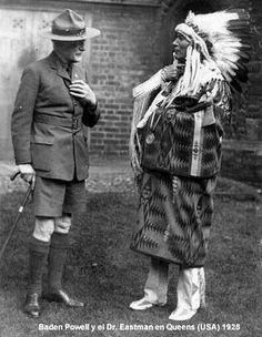 lord baden powell native indian in headdress Boy Scouts, Baden Powell Scouts, Robert Baden Powell, Scout Uniform, Scout Activities, Scout Leader, Eagle Scout, Girl Guides, Native Indian