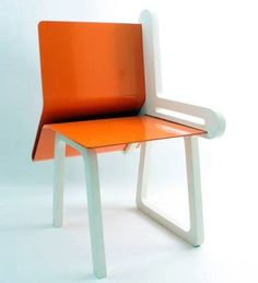 OpenBook Chair Design by DEDE Dextrous Design