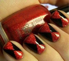Beautiful black and red