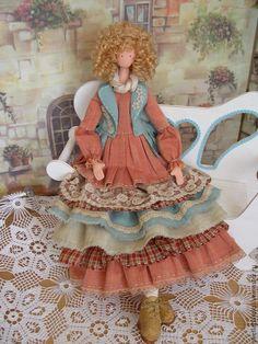 Купить Интерьерная кукла Ульяна (стиль Шебби Шик) - кукла, кукла тряпиенс, тряпиенс