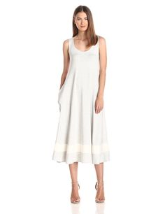 So Fine Flare Tank Dress with Pockets and Inset by Only Hearts