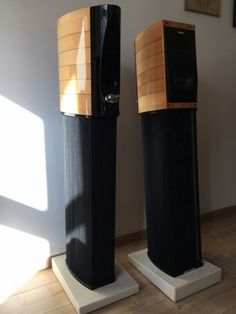 Hifi Speakers, Bookshelf Speakers, Audio Stand, Speaker Stands, High End Audio, Stand Design, Loudspeaker, Audiophile, How To Look Better