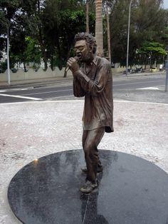 Estátua de Renato Russo