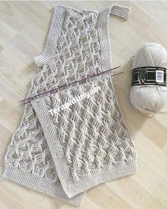 🌸💕🌸💕🌸 . . . . . @terapidunyam . . #yelekmodelleri#orgumodelleri#elisi#elsanatlari#kesfet Path Design, Chunky Yarn, Crochet For Beginners, Child Models, Crochet Motif, Baby Knitting Patterns, Cute Kids, Make Your Own, Articles