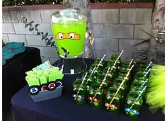 TMNT Birthday Party Ideas   Photo 18 of 40   Catch My Party