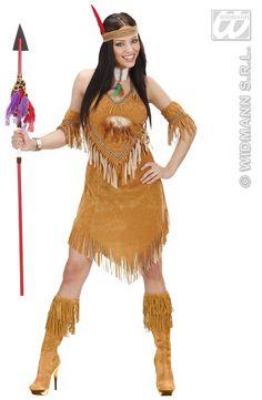 Indiaanse kostuum