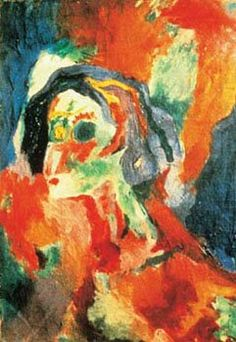 Portrait of Emmy Hennings by Hans Richter Harlem Renaissance, Hans Richter, Beatrice Wood, Hans Arp, Francis Picabia, Magic Realism, Art Thou, Angel Of Death, Cubism