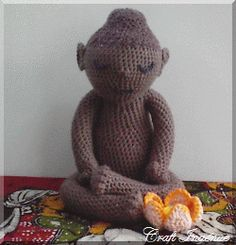 Little 'Uns Lotus Buddha ~ free pattern