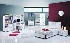 Jugendzimmer Modern Rock 7tlg. #Möbel #Kinderzimmer
