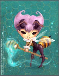 - Darkstalkers Tribute: Q-bee by sudoru