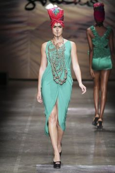 Africa Fashion Week Spring/Summer 2012 Collection: [Day 2] Soucha | Haute Fashion Africa